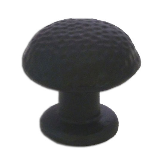 Premier Hardware Designs Arizona Collection 1-9/32'' Diameter Traditional Round Hammered Knob in Shiny Pewter, Available in Multiple Finishes