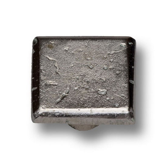 Premier Hardware Designs Arizona Collection 1-3/16'' Diameter Traditional Arcadian Square Knob in Shiny Pewter, Available in Multiple Finishes