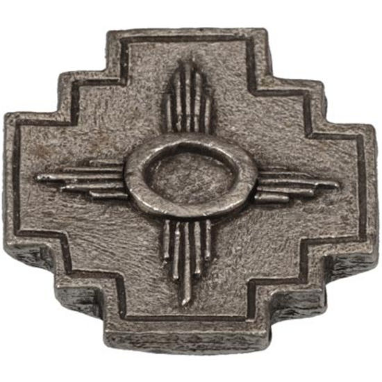 Arizona knob shown in Natural Pewter