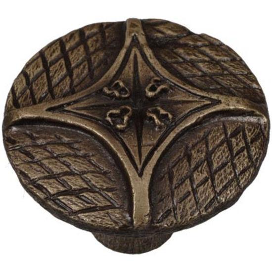 Cosmopolitan pull shown in Antique Brass