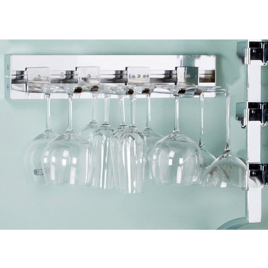 Wine Rack Accessories 18 Wall Mount Stemware Set Set