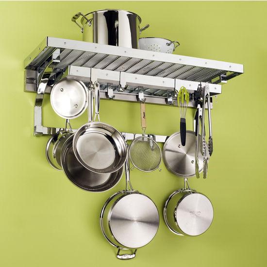 "pegRAIL 36"" Gourmet Pot Rack Set"