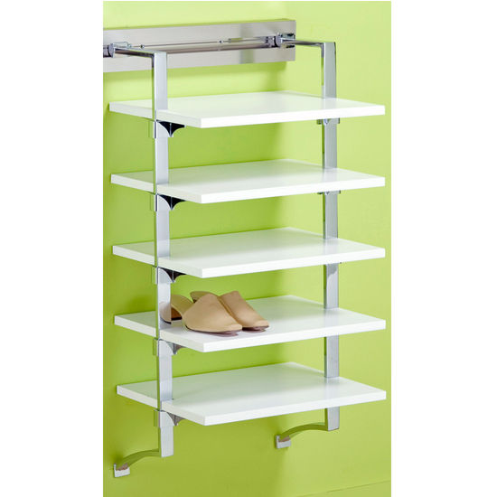 "pegRAIL 18"" Shoe Shelf Set"