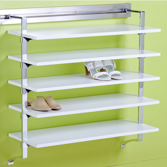"pegRAIL 36"" Shoe Shelf Set"