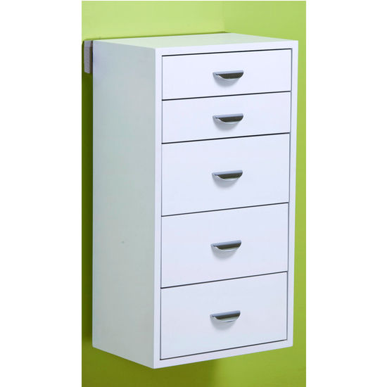 "pegRAIL 18"" Five Drawer Cabinet Set"