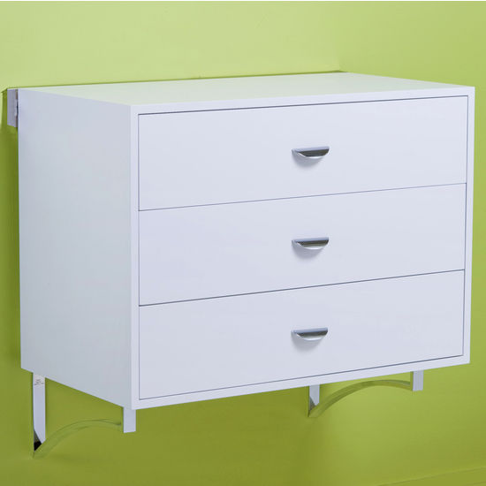 "pegRAIL 36"" Three Drawer Cabinet Set"