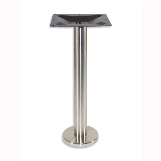 4000 Series Turin Line Table Height Round Bolt Down Base