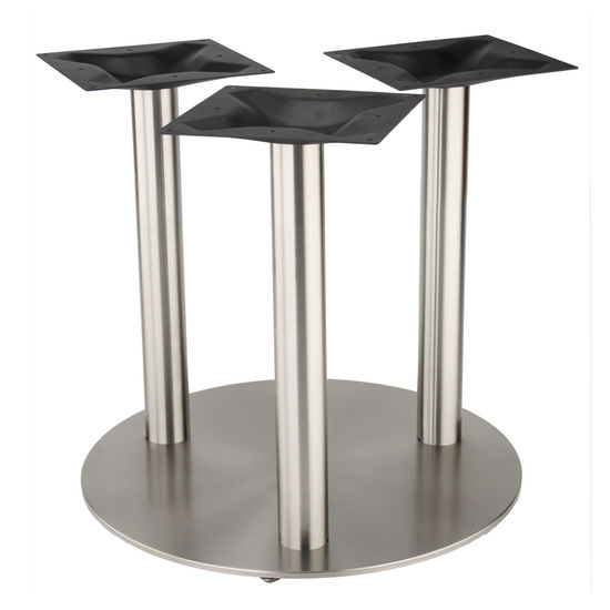 4000 Series Turin Line Table Height Round Tri-Leg Base