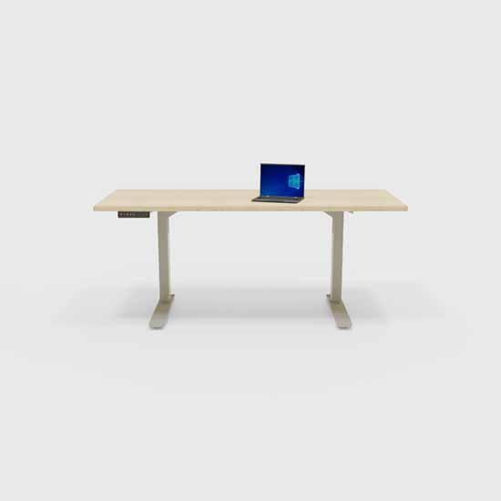Peter Meier INC. 24'' D Desk Top in Ash Lifestyle View