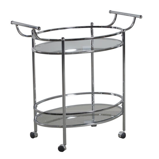 Chrome Service Cart