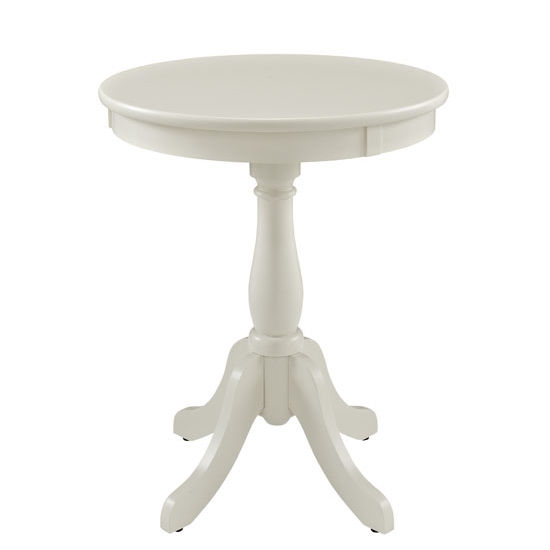 Merveilleux Round Side Table By Powell