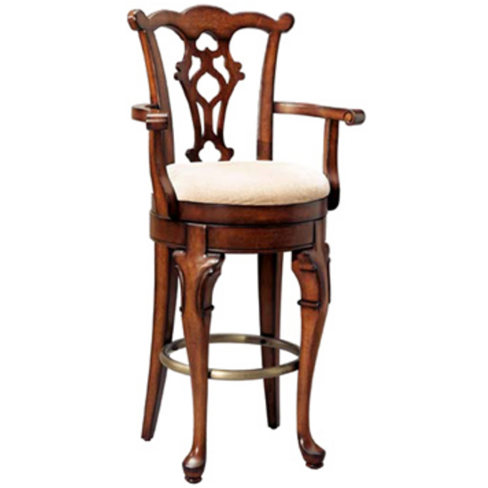 Jamestown Landing Arm Bar Stool