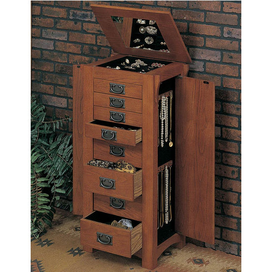 Cabinet-Organizers - Free-standing Jewelry Armoire ...