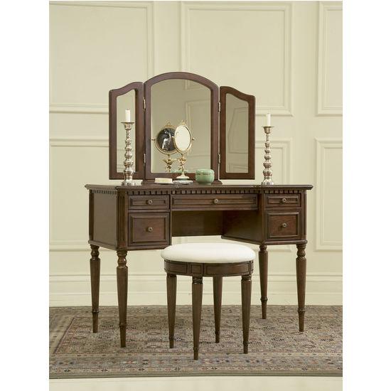 Vanity, Mirror & Bench