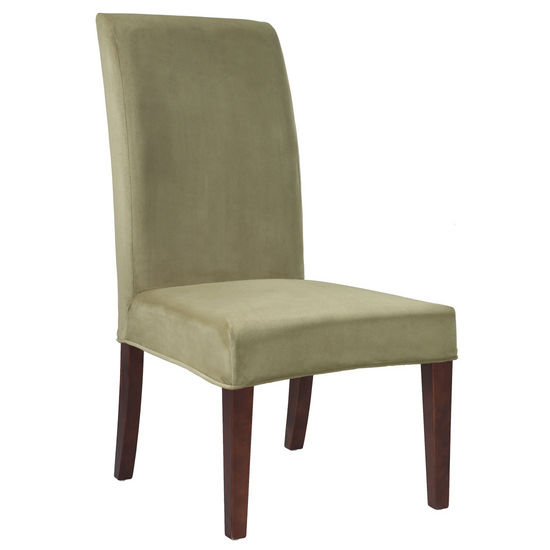 """Basil Green Velvet """"Slip Over"""" (Fits 741-440 Chair)"""