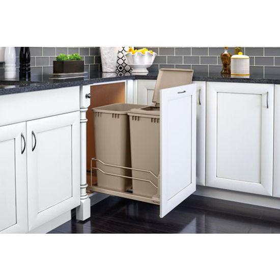 Rev-A-Shelf Replacement Waste Bins   KitchenSource.com