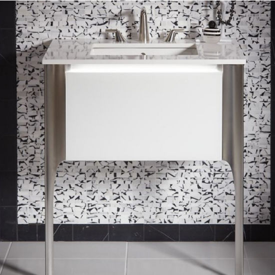 Balletto Collection 15'' H Single Drawer Bathroom Vanity