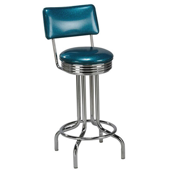 Regal - 50's Metal Bar Stool