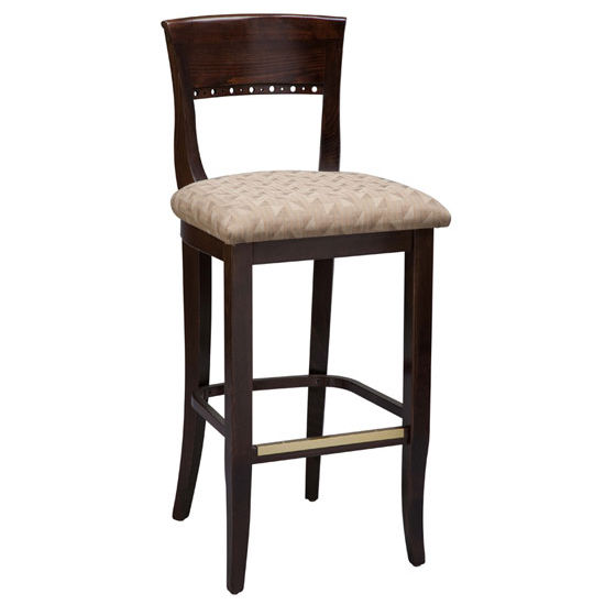 Regal - Italian Wood Bar Stool