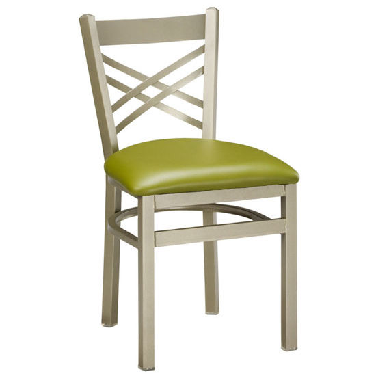 Regal - Italian Wood/Metal Combo Chair