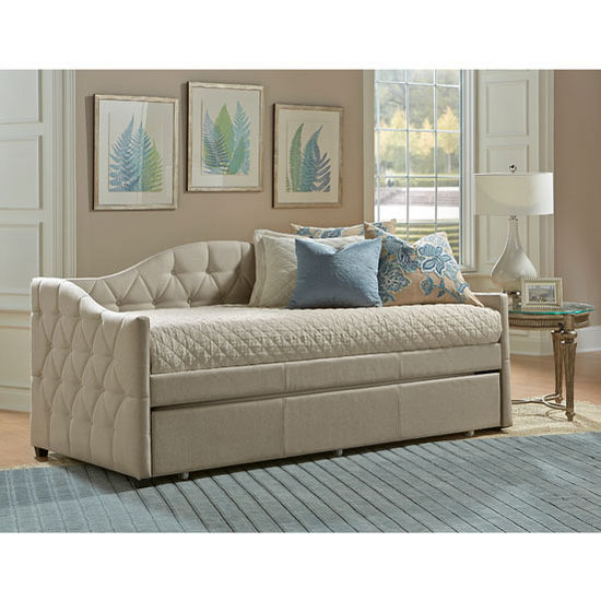 "Hillsdale Furniture Jamie Daybed in Beige, 42"" Wide (Set Includes: Sides Panels and Back Panel)"