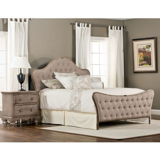 Jefferson King Bed Set w/ Rails