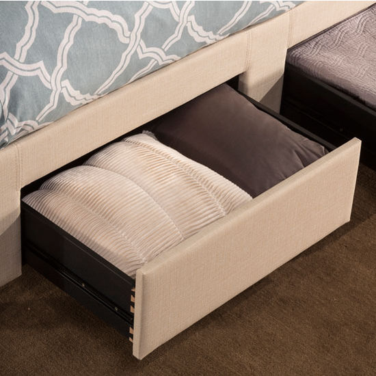 Twin Full Queen Or King Size Duggan Front Storage Bed