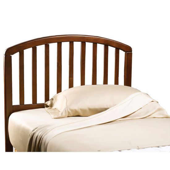 Hillsdale Furniture Carolina Cherry Twin Bed Set w/out Footboard, Includes Headboard & 4-Leg Frame