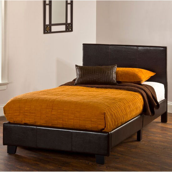 "Hillsdale Furniture Springfield ""Bed in a Box"" Bed Set - Twin in (Includes Headboard, Footboard & Rails), 41-3/4''W x 77-1/4''D x 35''H"