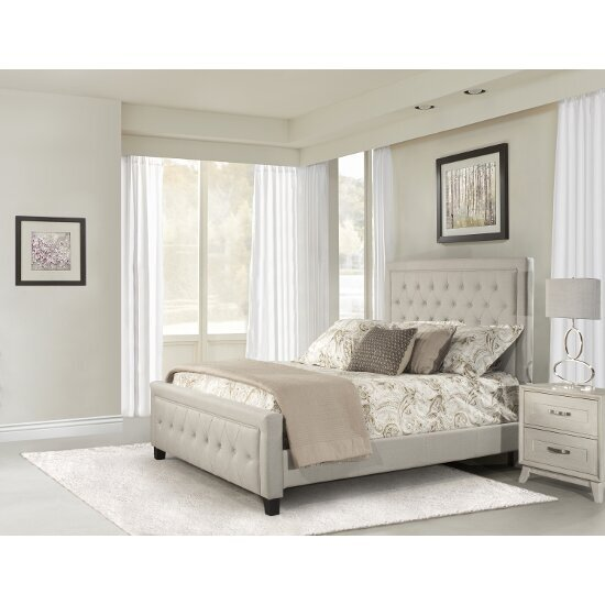 438c7194a7d9 Kaylie Queen Size Bed Set with Rails Included by Hillsdale Furniture |  KitchenSource.com