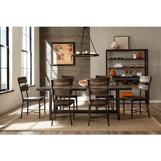 Hillsdale Furniture Jennings Collection 7 Piece Dining Set With (6) Jenning  Side Chairs