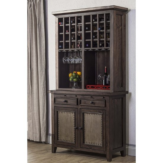 "Hillsdale Furniture Tuscan Retreat ® Buffet in Mocha Finish, 44"" W x 18"" D x 37"" H"