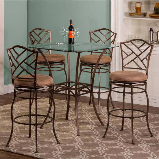 Set with Hanover Stools