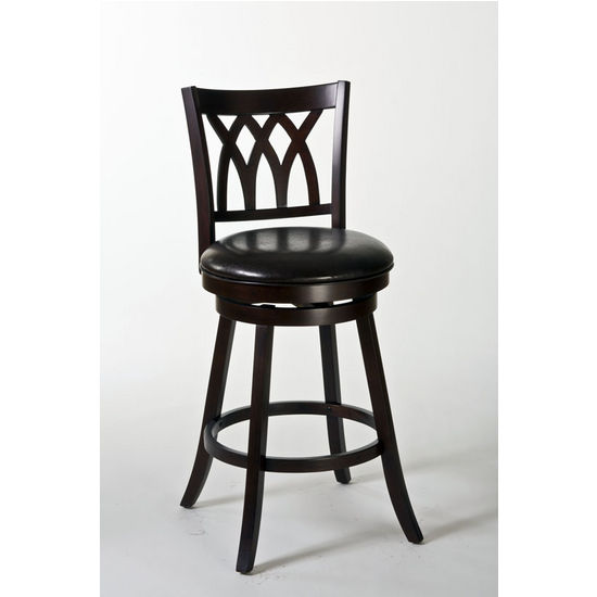 Tateswood Swivel Counter Stool, Cherry