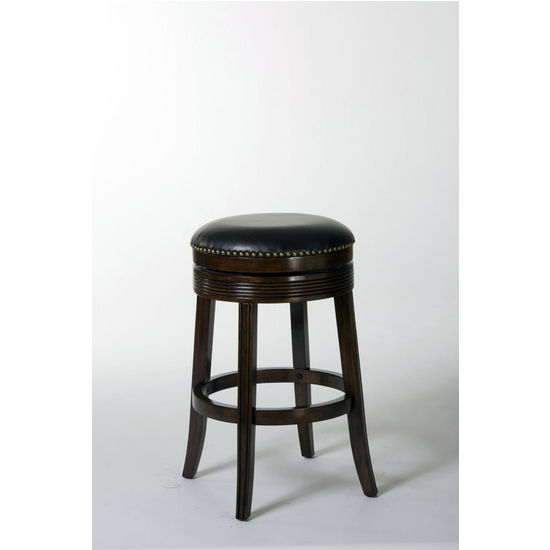 Tillman Backless Swivel Counter Stool, Espresso