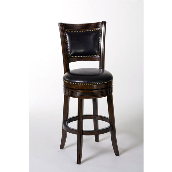 Lockefield Swivel Counter Stool, Espresso
