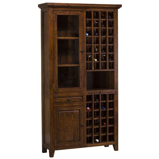 Hillsdale Tuscan Retreat ® Tall Wine Storage, 44''W x 16''D x 83''H