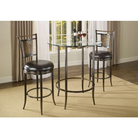 Parkside 3pc Bar Height Pub Table Set