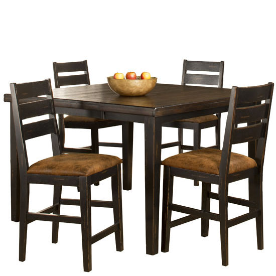 Killarney Counter Height Dining Set with Ladder Back Stools