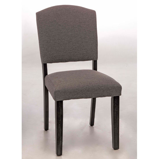 Hillsdale Furniture Emerson Parson Dining Chair, Set of 2, Black