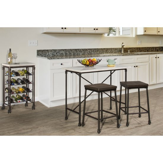 3-Piece Counter Height Set