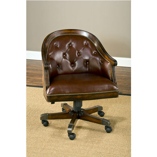 Harding Game Chair, Rich Cherry
