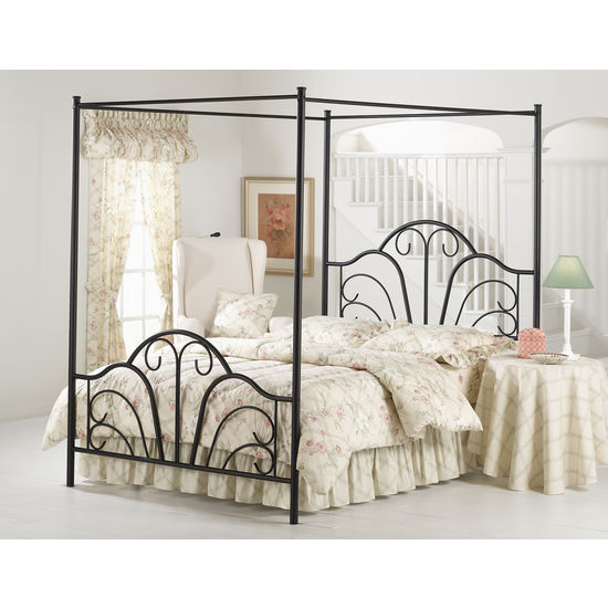 Dover Queen Bed Sed, Black