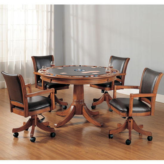Park View 5-Piece Game Table Set by Hillsdale Furniture