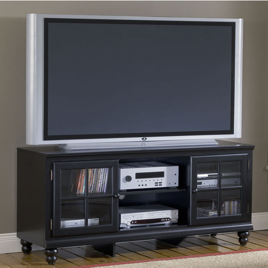 Hillsdale - Grand Bay 61'' Entertainment Console, Black