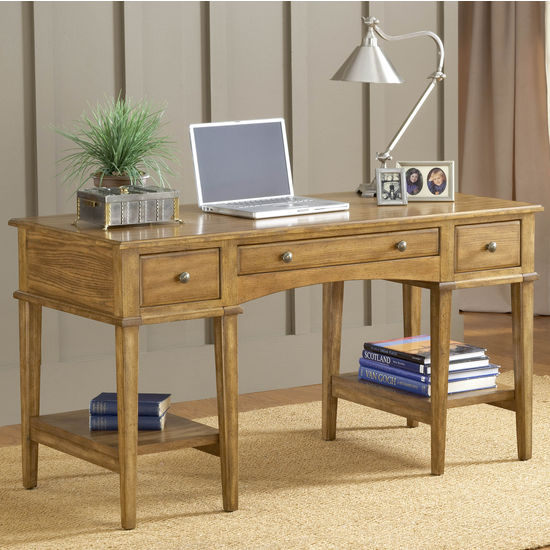 Hillsdale Gresham Desk, Medium Oak