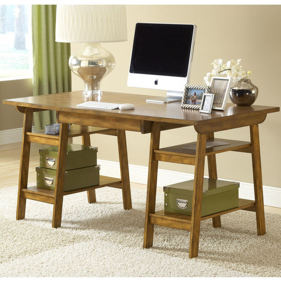 Hillsdale Parkglen Desk, Medium Oak