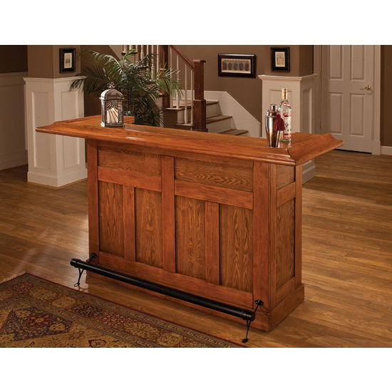 Large Bar and Optional Side Bar by Hillsdale Furniture