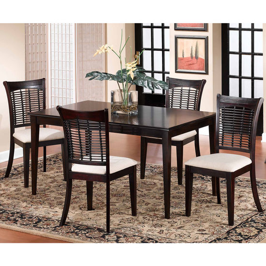 5-Piece Set w/Bayberry Chairs
