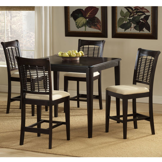 Set with Bayberry Stools